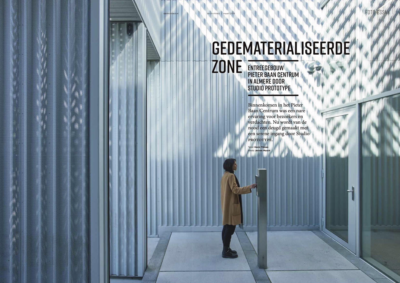 ENTREEGEBOUW PIETER BAAN CENTRUM IN 'DE ARCHITECT'