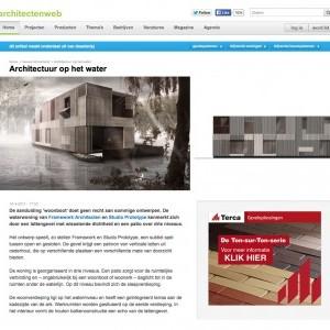 WATERVILLA OP ARCHITECTENWEB