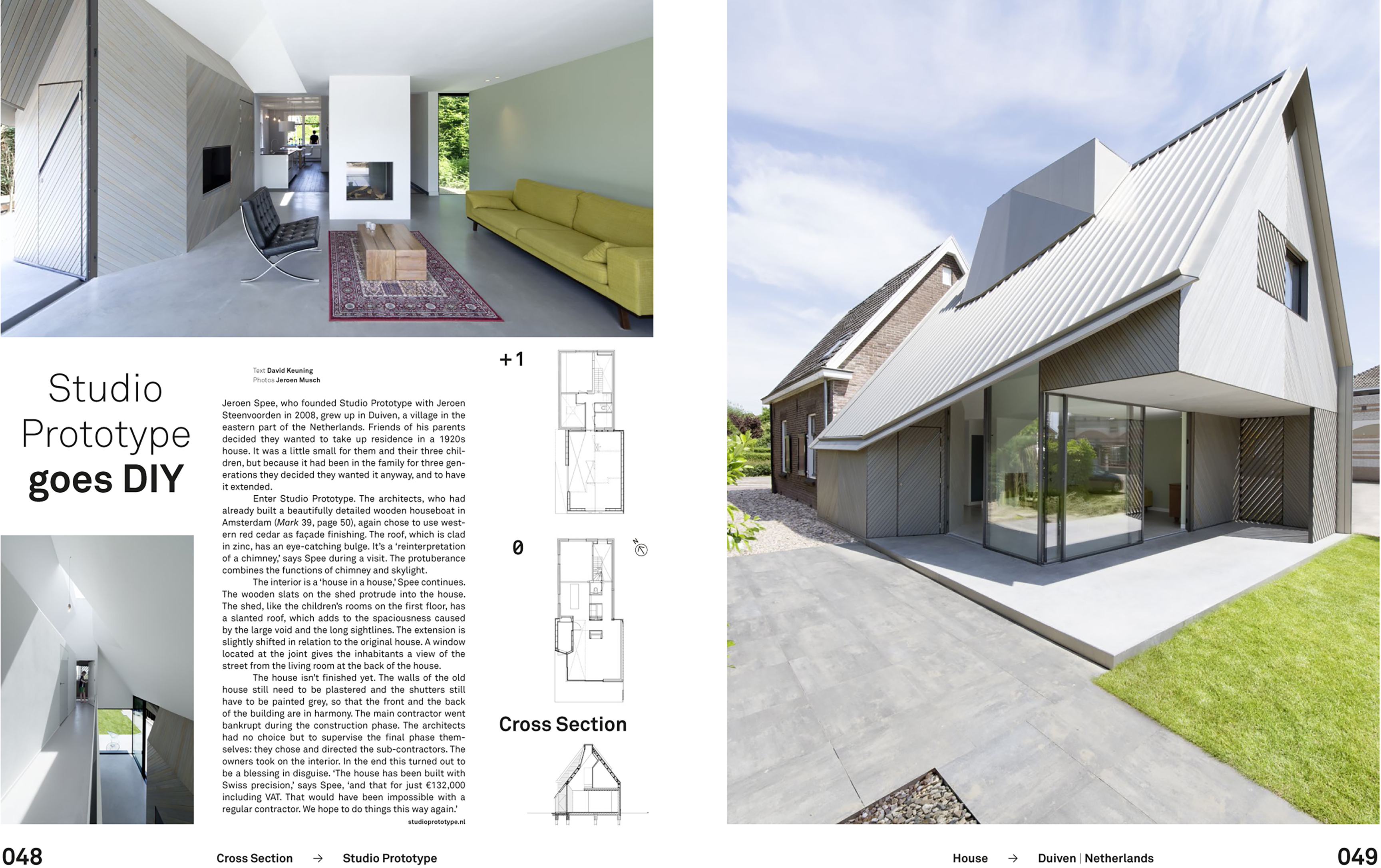 HOUSE W IN MARK MAGAZINE