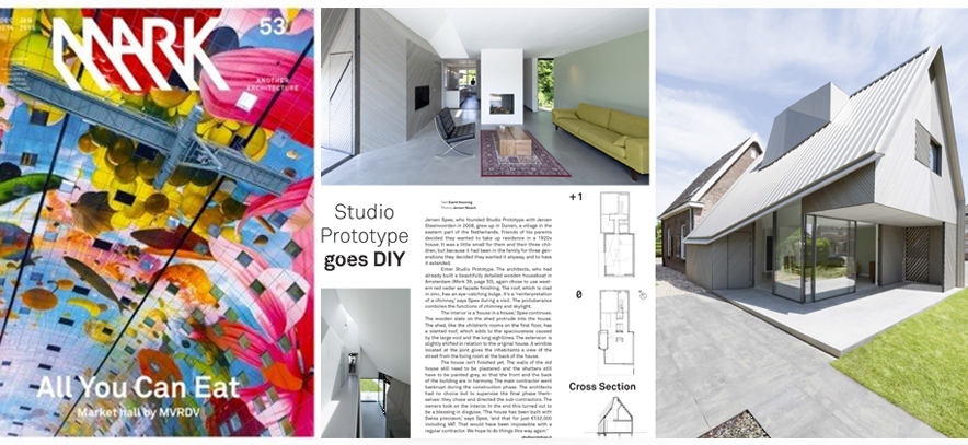 ARTIKEL OVER HOUSE W IN MARK MAGAZINE